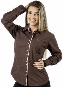 Camisa Feminina Poá Catherine - Pimenta Rosada