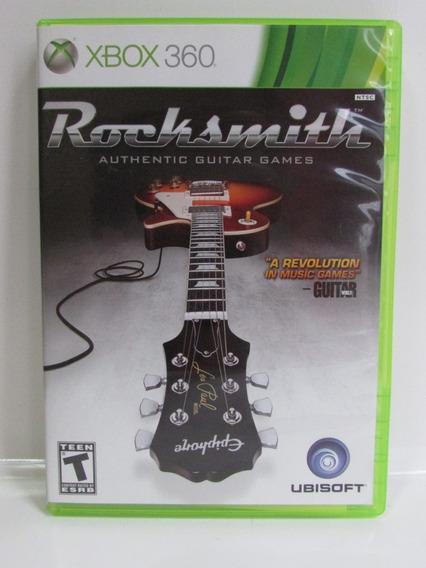 Rocksmith - Xbox 360 Original Completo Americano