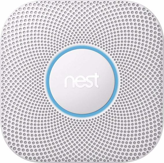 Detector De Humo Inteligente Nest Baterias Alarma Incendios