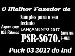 Samples S-670 Pack-04 Com 108 Rimos 32 Timbres Profici.