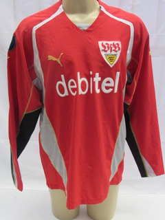 Stuttgart Camisa De Futebol De Goleiro #1 Hildebrand Puma Aa
