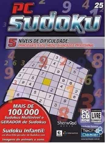 Pc Game Sudoku - 5 Níveis - Original E Lacrado