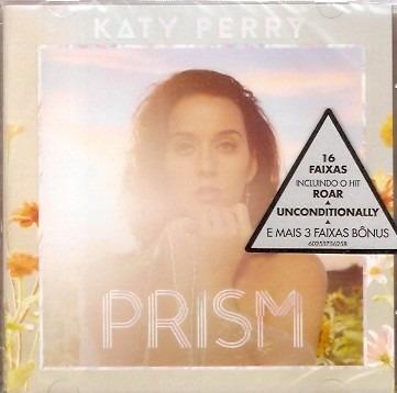 Cd Katy Perry - Prism - Novo Lacrado***