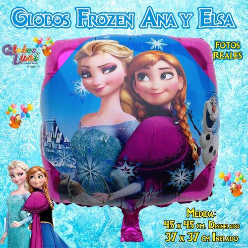 Globos Frozen Ana Y Elsa