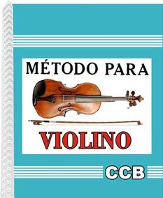 Método Para Violino Ccb Novo