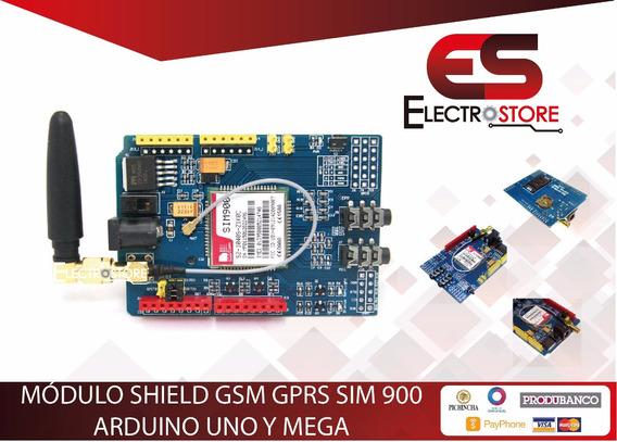 Shield Modulo Sim900 Gsm Arduino Mega Uno Conexion