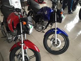 Honda Cg150 New 2018 Motolandia!! Libertador Tel 4792-7673