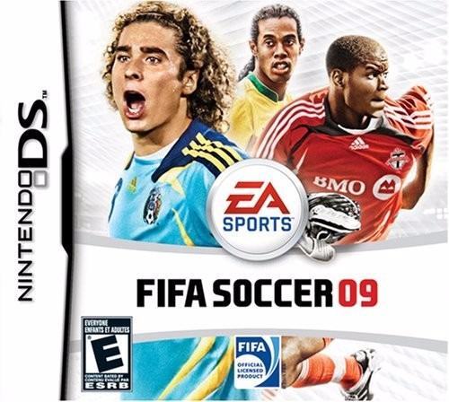 Jogo Mídia Física Fifa Soccer 09 Original Para Nintendo 09
