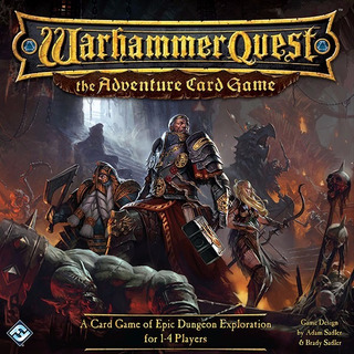 Warhammer Quest - Adventure Card Game - Board Game - Ingles