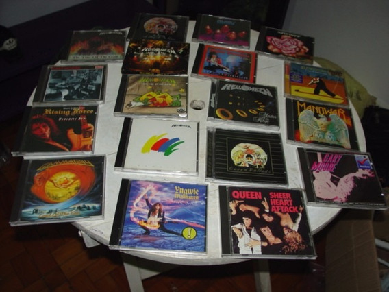Queen Gammaray Manowar Malmsteen Moore Supertramp Helloween