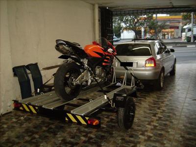 Carreta Para 3 Motos, Reboque Para Motos, Carretinha