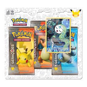 Pokemon Triple Pack Geracoes Meloetta Copag Da Amazonia