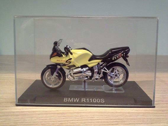 Miniatura Moto Bmw R1100s Amarelo Claro Escala 1:24 Rara
