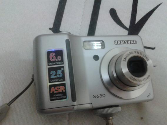 Câmera Digital Samsung S630 6.0 Megapixels