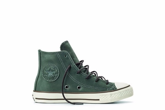 Zapatilla Converse Niño Leather Hi 653163b