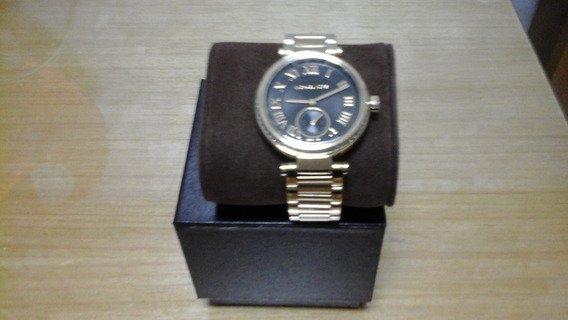 Relogio Michael Kors Skylar Masculino Black Watch Mk5989