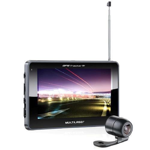 Navegador Gps Multilaser Tracker Iii Gp037 Com Tela De 5