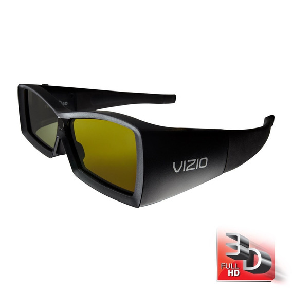 Oculos Vizio Full Hd 3d Vsg102 02 Peças Frete Gratis