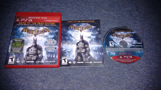Batman Arkham Asylum Completo Para Play Station 3,checalo