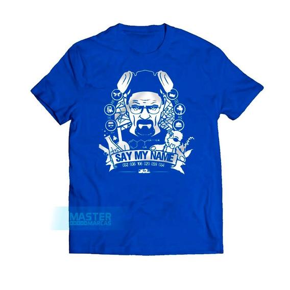 Camiseta Heisenberg Say My Name Breaking Bad Exclusiva