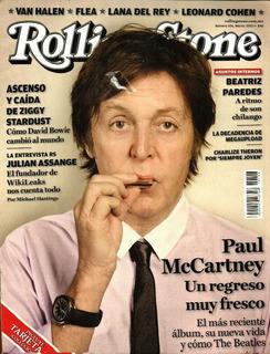 Revista Rolling Stone No. 106 Marzo 2012 Paul Mccartney