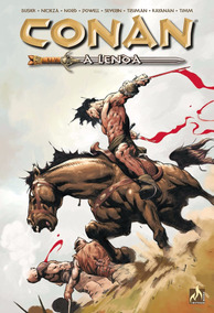 Conan - A Lenda - Edição De Luxo Capa Dura! Nova E Lacrada!!