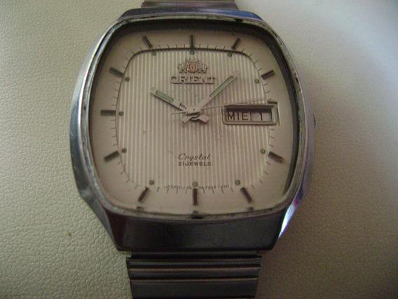 Reloj Orient Automático Vintage. Crystal. 3 Estrellas. Big.