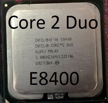 Processador Intel Core 2 Duo E8400 3.0ghz 775 Frete Gratis