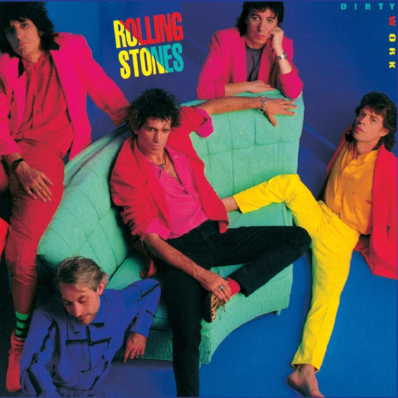 The Rolling Stones - Dirty Work (1986)