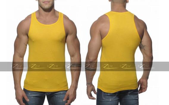 Regata Masculina Camiseta Masculina Academia Verão Promoção