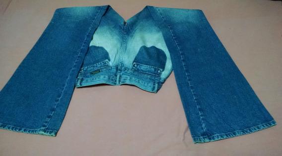Calça Jeans Boot Cut ( Boca De Sino ) Flare Tamanho 40