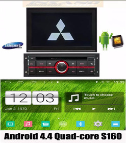 Kit Central Multimidia Android 4.4.4 L200 Triton Dakar Quad