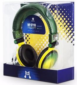 Fone Brasil Verde E Amarelo