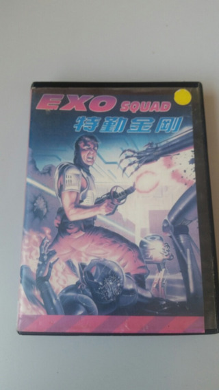Exo Squad Jogo Paralelo Para Mega Drive