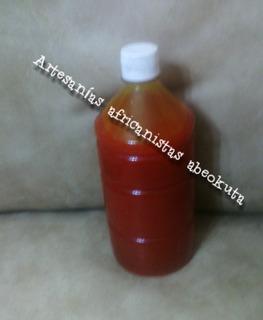 Aceite De Dende Puro 1 Litro