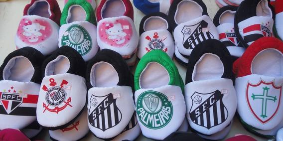 Pantufa Time Corinthians São Paulo Palmeiras Santos Gremio
