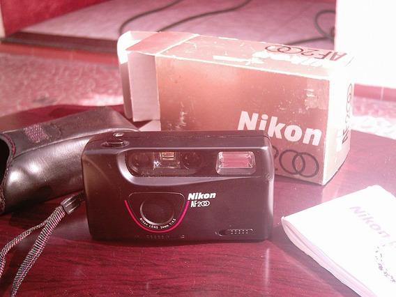 Câmera Analógica Nikon Af200 Com Frete Pequeno