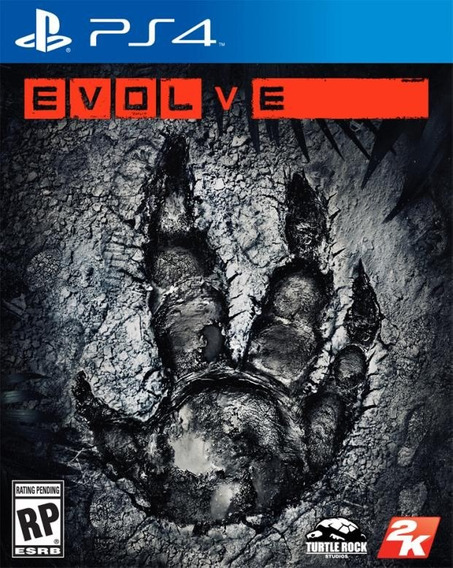 Jogo Evolve Ps4 Playstation 4 Original Mídia Física Game