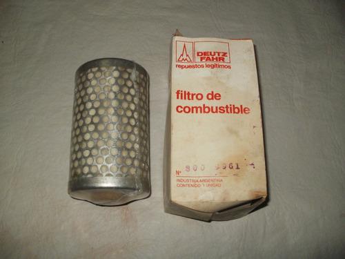 Filtro De Combustible Original Para Vehiculos Deutz Fahr