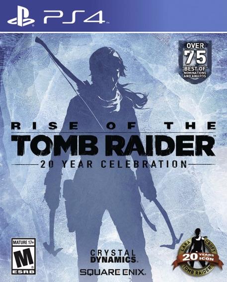 Tomb Raider Rise Ps4 Psn* Original*1