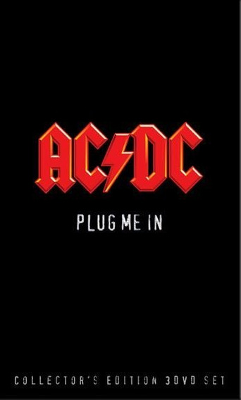 Ac/dc - Plug Me In - 3 Dvd P Deluxe