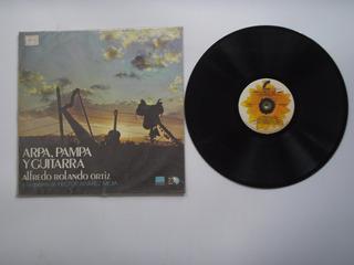 Lp Vinilo Alfredo Rolando Ortiz Arpa Pampa Y Guitarra