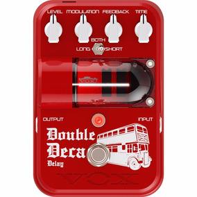 Pedal Vox Tonegarage Double Deca Delay Tg2 Dddl Chorus