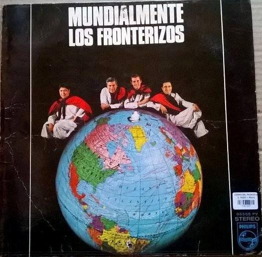 Disco Vinilo Mundialmente Los Fronterizos
