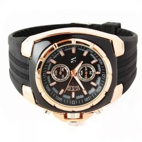 Relógio Masculino Original V6 Luxo Esportivo