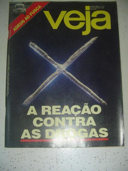 Revista Veja 937 Fim Fusca Mãe Menininha Bethânia Lionel1986