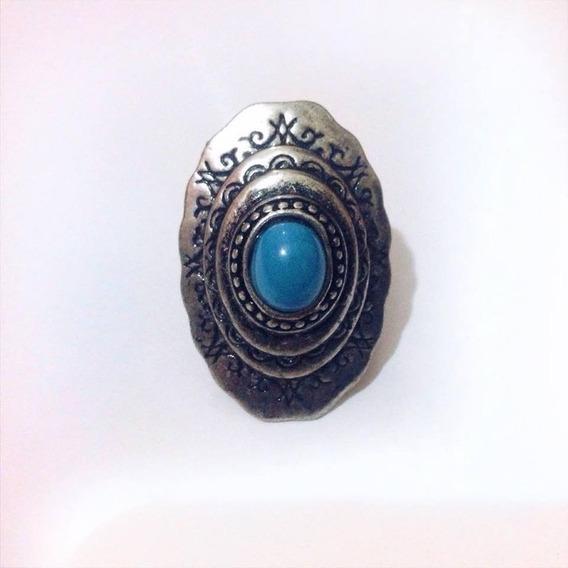 Anel De Pedra Azul