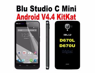 Software Original Blu Studio C Mini D670l / D670u