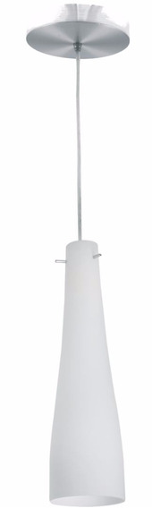 Pendente Luminária Vidro Alumínio Funny G-light 1 Lâmpada