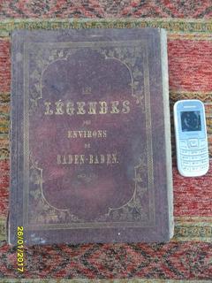 Antiguo Libro Les Legendes Arte Grabados Pintura En Frances